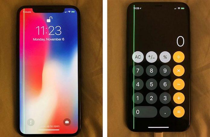 iphone-x-green-line-